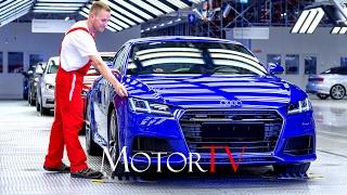 CAR FACTORY : NEW 2017 AUDI TT RS PRODUCTION l  Györ (Hungary) Plant