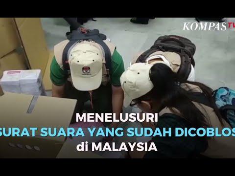 Menelusuri  Surat Suara Yang Sudah Dicoblos di Malaysia