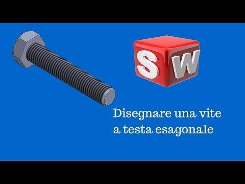 Solidworks italiano - Vite a testa esagonale - Tutorial #49#