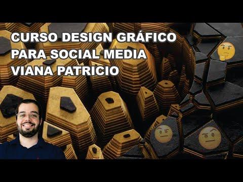 curso design grfico para social media viana patricioLogo, Grid e ConceitoElementos de Identidade