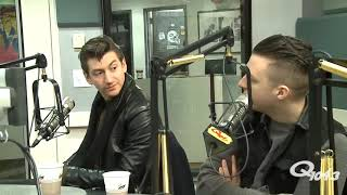 arctic monkeys interview but there's a uncomfortable silence