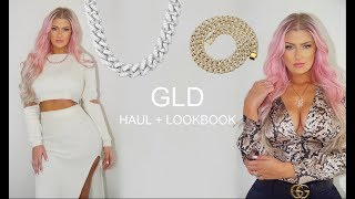 👑 ICED OUT ❄️ GLD try on HAUL + LOOKBOOK