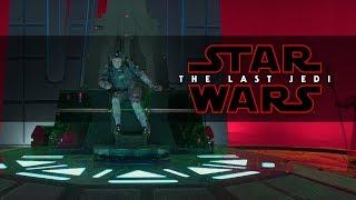 Star Wars: The Last Jedi | Snoke and Mirrors