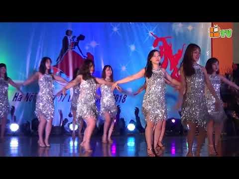 Nhảy khiêu vũ: Rumba & Chachacha - Gv Trường mầm non thăng long Hệ thống giáo dục billgates ngày 8/3