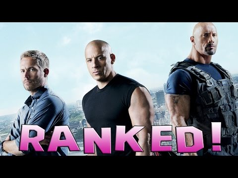 7 Fast and Furious Movies Ranked