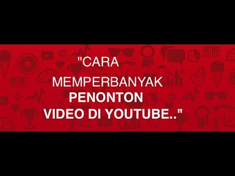 Video Mendapatkan Uang dari Youtube | Cara Memperbanyak Pengunjung Video Youtube!