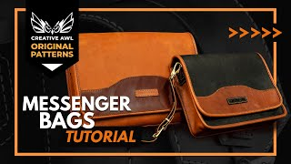 How To Make Leather Messenger Bags