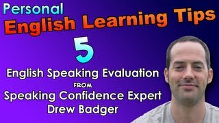 English Speaking & Fast Fluency Tips 5 - English Speaking Evaluation - English Listening Practice