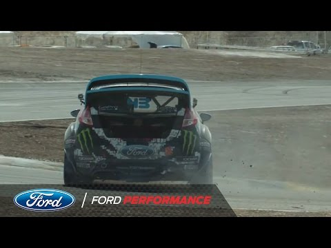 43 Seconds with Ken Block at Red Bull Global Rally Cross in Barbados