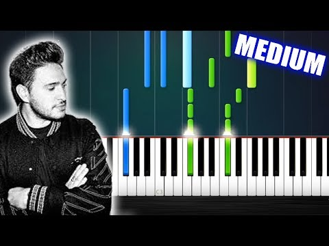 Jonas Blue - Rise - Piano Tutorial (MEDIUM/HARD) by PlutaX