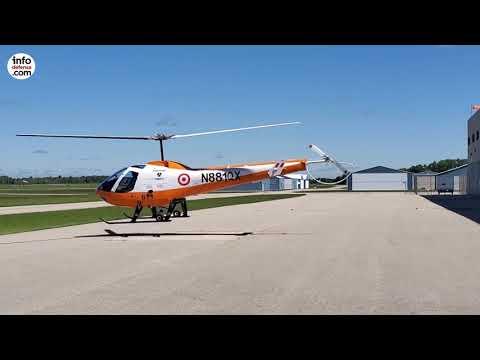 Estos son los helicópteros Enstrom 280FX Shark adquiridos por la Fuerza Aérea del Perú