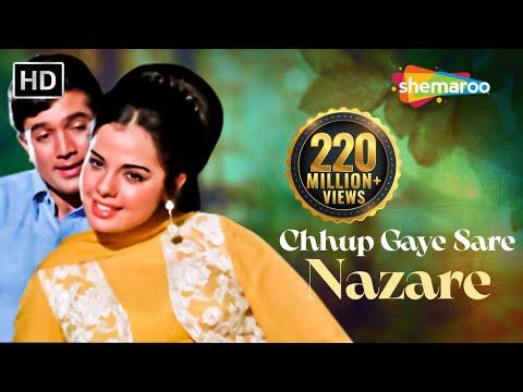 Chhup Gaye Sare Nazare - Rajesh Khanna & Mumtaz - Do Raaste - Bollywood Hit Love Songs {HD}