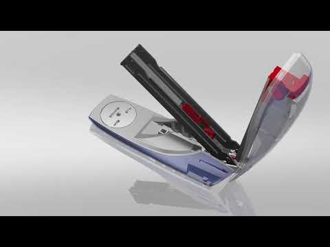 """Leitz """"Nexxt Style"""" 24/6, 26/6 tűzőgép, szaténfekete (55620094)"""