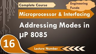 Addressing Modes in 8085 Microprocessor (Basics, Definition, Working & Examples)
