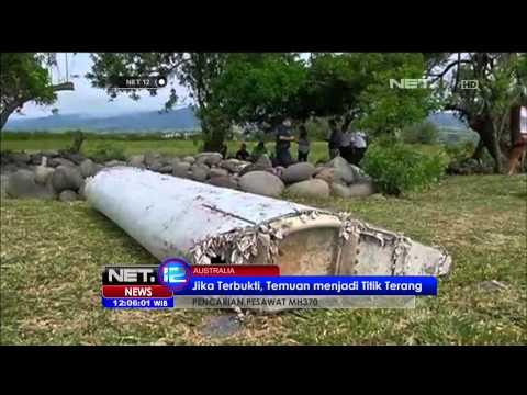 Puing Pesawat Malasyia Airlines MH370 Ditemukan - NET12