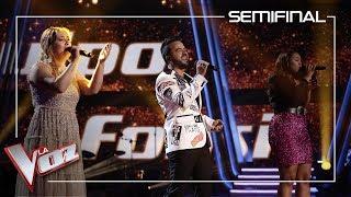 Luis Fonsi, Linda Rodrigo Y María Espinosa Cantan 'Aquí Estoy Yo' | Semifinal | La Voz Antena 3 2019