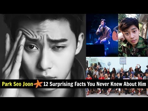 Park Seo Joon – 12 Surprising Facts You Never Knew About Him