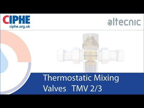 CIPHE techtalk live Thermostatic Mixing Valves