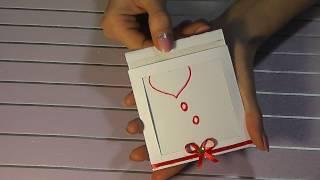 DIY Волшебная открытка ВАЛЕНТИНКА своими руками
