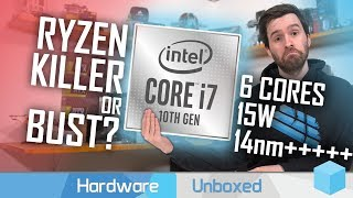 Intel Core i7-10710U Benchmarked, 14nm+++ Skylake Zombie Fights On!