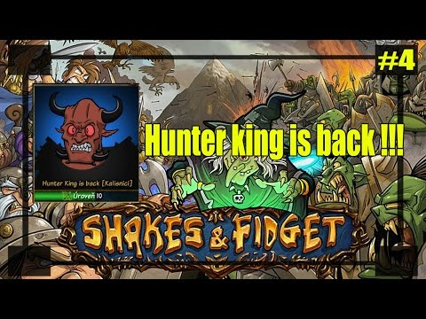 Shakes & fidget : Hunter King is back !!! Level 100 Demon kráľ podzemiek !!! #4