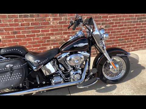 2009 Harley-Davidson FLSTC Heritage Softail® Classic in Ames, Iowa - Video 1