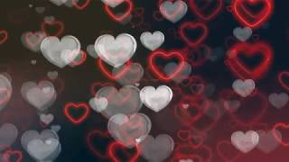 Hearts Background Video Effects | Love Backgrounds | Hearts overlay videos | #WhatsAppStatusvideos
