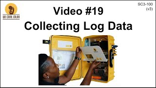 19  v3 Solar Suitcase – Collecting Log Data