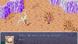 Dragon ball Z RPG: Legend of Z - Great battle against Kid Buu!