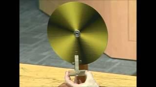 Magnetic Damping - Spinning Wheel Generator