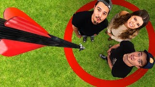 Don't Get Hit By The Falling Arrow Challenge!