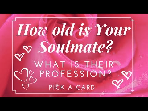 How old is your Soulmate? What is their Profession? Pick A Card