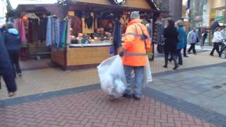 preview picture of video '2012.11.23 Birmingham, UK - Christmas German Market.MTS'