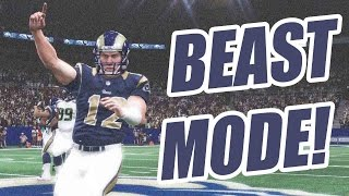 WOW! ANDREW LUCK GOES BEASTMODE!! - Ultimate Team Madden 15  | MUT 15 XB1 Gameplay