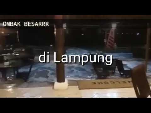 Tsunami di anyer dan lampung