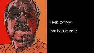 Pixels to finger, sur les pas de David Hockney