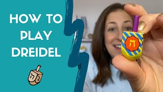 How to Play Dreidel / Hanukkah Dreidel Game Instructions
