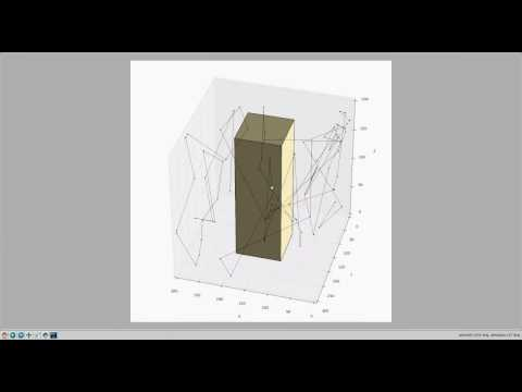 Random walk (time mode) mobility model in 3D with obstacle using ns-3