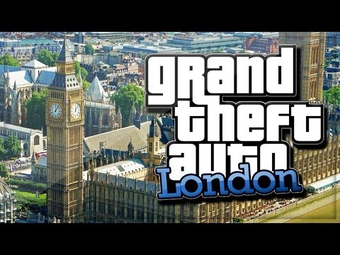GTA 5 London! New Map Expansion GAMEPLAY MOD