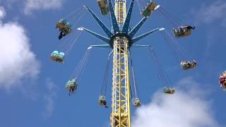 preview picture of video 'Swings at Southport Pleasureland in July 2014'