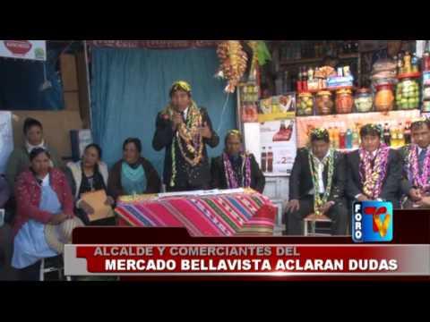 Alcalde y comerciantes del mercado Bellavista aclaran dudas