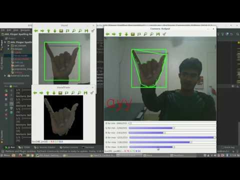 hand gesture recognition for sign language - смотреть онлайн на Hah Life