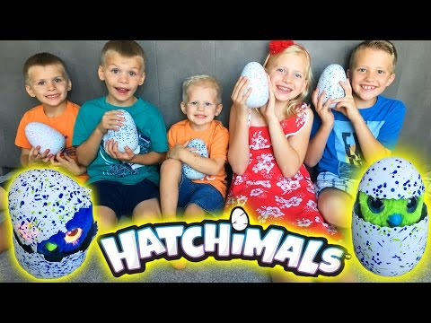 HATCHIMALS || Magical Surprise Animals Hatch from GIANT EGGS!!