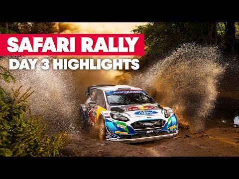 リタイア続出?!WRC 2021 WRC第6戦ラリー・ケニア Day3のハイライト動画