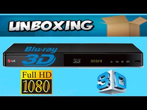 Déballage lecteur bluray 3d LG bp440