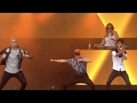 CNCO - Hey DJ (Live From Norway Cup 2018)