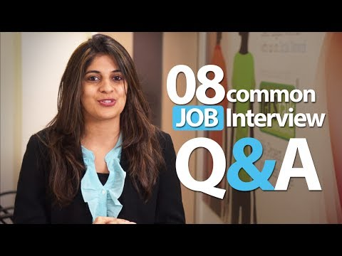 08 common Interview question and answers – Job Interview Skills