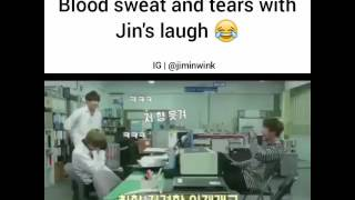 bts jin laughing blood sweat and tears - मुफ्त