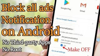 How to stop pop up ads and notification on android