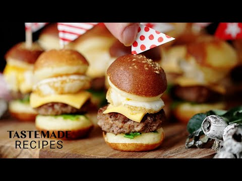Petite Burger Recipe – The Best Superbowl Appetizer!